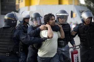mexico city riot