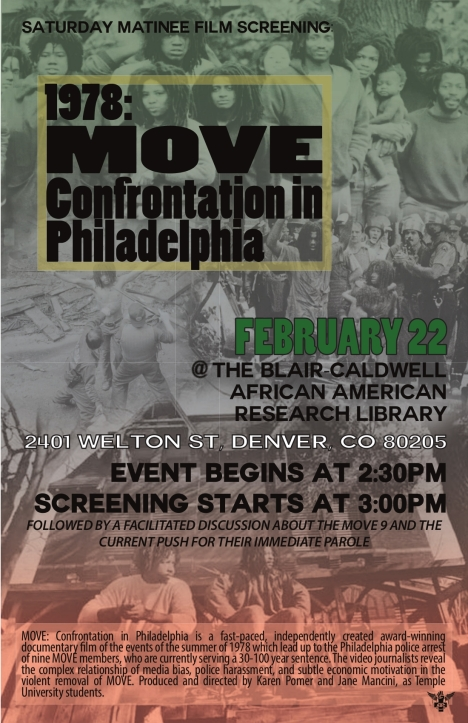 move confrontation poster