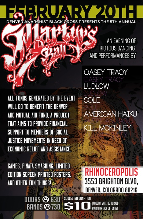 martyrs ball 2016 flyer 11x17