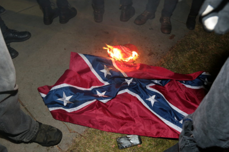 burning-confederate-flag
